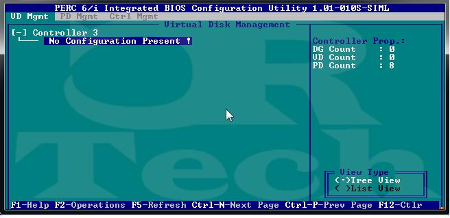 Deleting RAID in PERC BIOS | CRTech