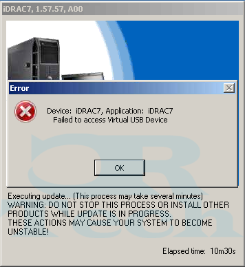 iDrac_Virtual_USB_Device_Error 1